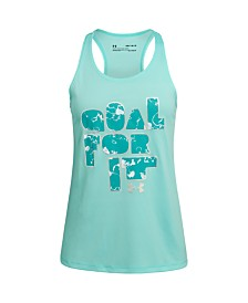 Under Armour Big Girls Goal For It Tank