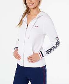 Tommy Hilfiger Sport French Terry Logo Hoodie