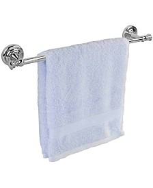 Home Basics Plated Steel Wall-Mounted Towel Rail