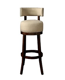"""Contemporary 29""""Barstool with Cushion, Set of 2"""