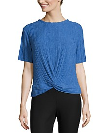 John Paul Richard Twist Knot Front Top