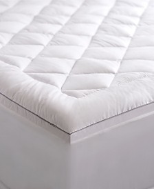 "Pure weave Allergen Barrier 2"" Down Alternative Mattress Pad Collection"