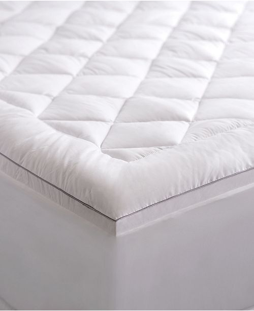 "Allied Home Pure weave Allergen Barrier 2"" Down Alternative Mattress Pad, Queen"