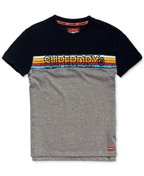 Superdry Men's Colorblocked Logo T-Shirt