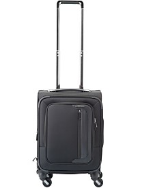 """Solite Executive Lightweight 22"""" Expandable Carry-on Softside Spinner Upright"""