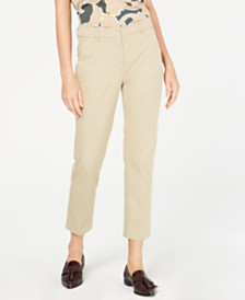 Weekend Max Mara Oglio Straight-Leg Pants