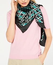Weekend Max Mara Rivetto Silk Square Scarf