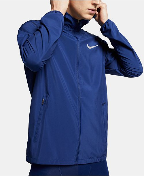 Nike Men's Essential Hooded Water-Resistant Running Jacket