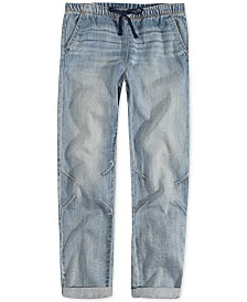 Levi's® Little Girls Cotton Denim Jogger Pants