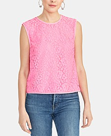 Addie Sleeveless Lace Top