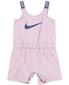 Nike Baby Girls Swoosh Sports Romper