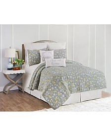 Dandelion Court King Quilt Set