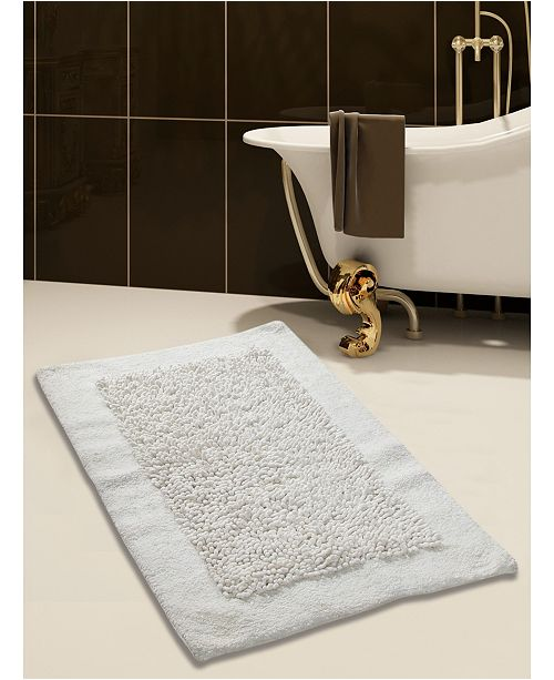 Saffron Fabs Lima 36 X 24 Non Skid Cotton And Chenille Bath Rug Reviews Bath Rugs Bath Mats Bed Bath Macy S