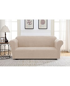 Solid Slipcover Sofa