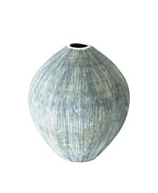 Taroudant Indigo Egg Vase