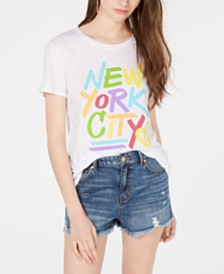 Hybrid Juniors' New York City Graphic T-Shirt