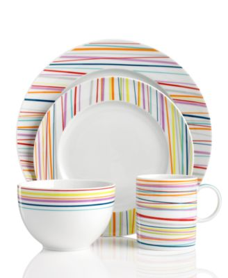 This item is part of the THOMAS by Rosenthal Dinnerware Sunny Day Stripes Collection  sc 1 st  Macyu0027s & Rosenthal THOMAS by Dinnerware Sunny Day Stripes Salad Plate ...