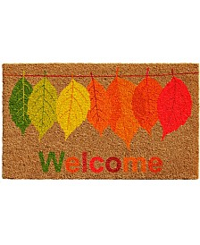 "Fall Colors 17"" x 29"" Coir/Vinyl Doormat"