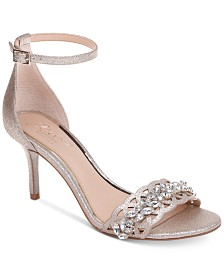 Jewel by Badgley Mischka Kirsten Evening Sandals
