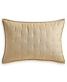 Metallic Stone Quilted King Sham, Created for Macy's