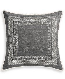 Lucky Brand Bali Batik Cotton 230-Thread Count European Sham, Created for Macy's