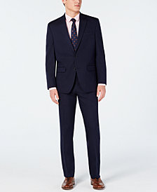 Club Room Men's Classic-Fit Stretch Twill Suit, Created for Macy's