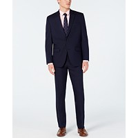 Deals on Club Room Mens Classic-Fit Stretch Twill Suit