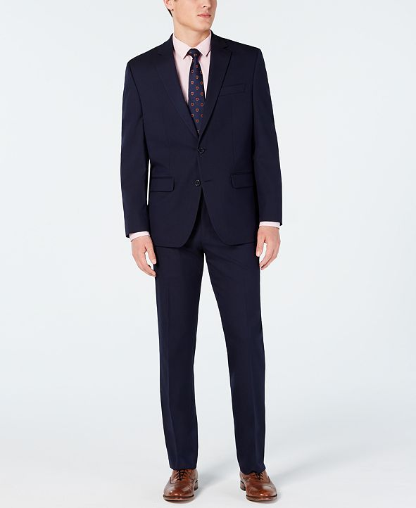 Club Room Men's Classic-Fit Stretch Suits, Created for Macy's