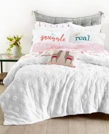 Chenille Dot 3-Pc. Full/Queen Comforter Set, Created for Macy's