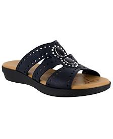 Easy Street Vara Jeweled Sandals