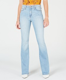 Flying Monkey High-Rise Flare-Leg Jeans