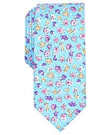 Bar III Men's Newbury Floral Tie, Created for Macy's