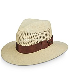 Dorfman Pacific Men's Vented Panama Safari Hat