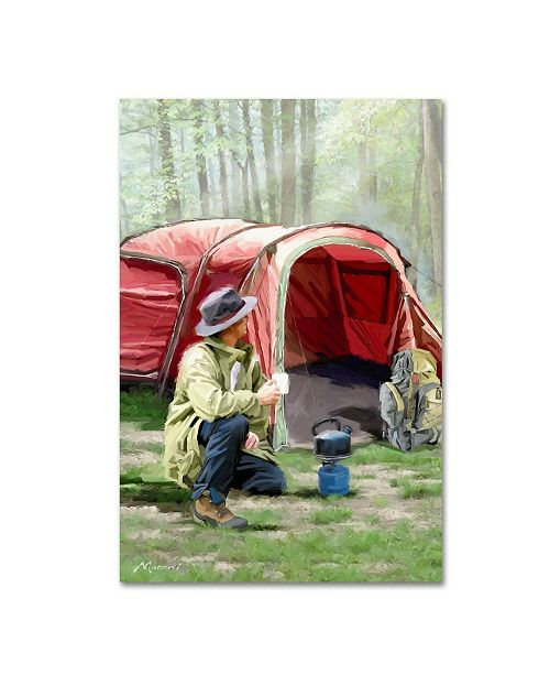 "Trademark Global The Macneil Studio 'Camping' Canvas Art - 47"" x 30"" x 2"""