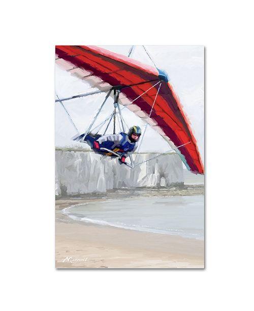 "Trademark Global The Macneil Studio 'Hang Glider' Canvas Art - 24"" x 16"" x 2"""