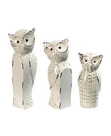 Vivek Owls Trio, Set of 3