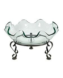 Twyla Decorative Glass Pedestal Bowl