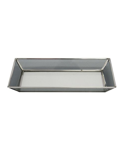 AB Home Mirror and Stainless Steel Tray