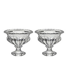 Omari Crystal Display Bowl, Medium, Set of 2