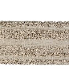 "Tufted Cotton Crochet Race Track Bath Mat 20"" x 60"""