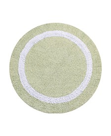 Hotel Collection Round Bath Rug 30""