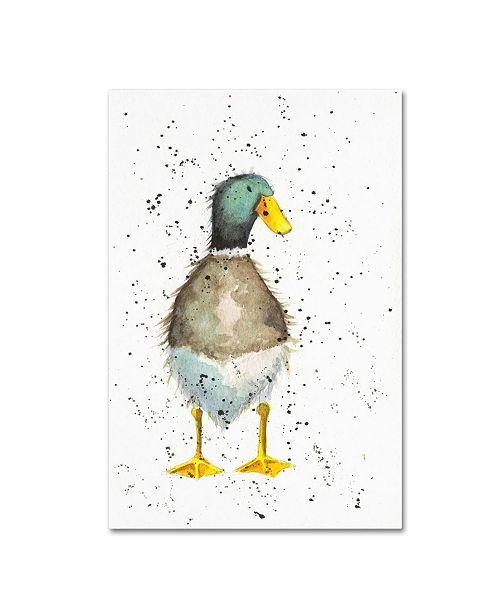 """Trademark Global Michelle Campbell 'Duck 2' Canvas Art - 32"""" x 22"""" x 2"""""""