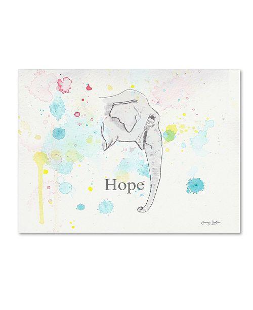 "Trademark Global Tammy Kushnir 'Hope 2' Canvas Art - 24"" x 18"" x 2"""