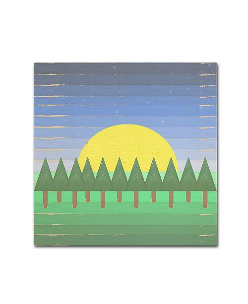 "Trademark Global Tammy Kushnir 'End of One Chapter' Canvas Art - 35"" x 35"" x 2"""