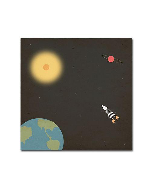 "Trademark Global Tammy Kushnir 'The Mission' Canvas Art - 14"" x 14"" x 2"""