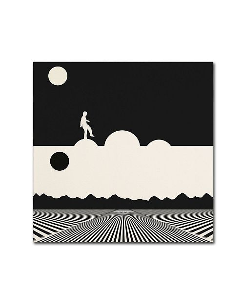 "Trademark Global Tammy Kushnir 'Night And Day' Canvas Art - 24"" x 24"" x 2"""