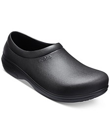 Men's On-The-Clock Work Slip-on Clogs from Finish Line