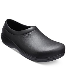 Crocs Men's On The Clock Work Slip-On Clogs