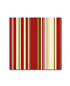 "Tina Lavoie 'Beautiful Christmas VI' Canvas Art - 35"" x 35"" x 2"""