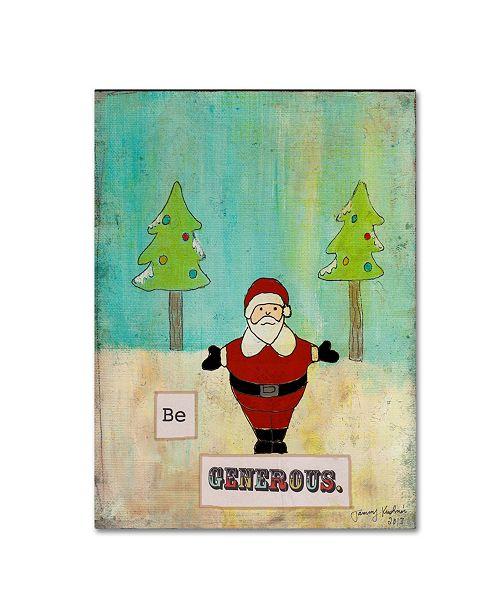 "Trademark Global Tammy Kushnir 'Be Generous' Canvas Art - 32"" x 24"" x 2"""